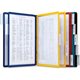 VARIO Reference Wall System, 10 Panels by DURABLE (Catalog Category: Binders & Binding Supplies / Pocket Display Systems)