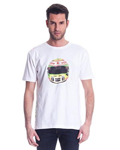 Vodafone Mclaren T-Shirt Vodafone Mc Laren [Bianco]