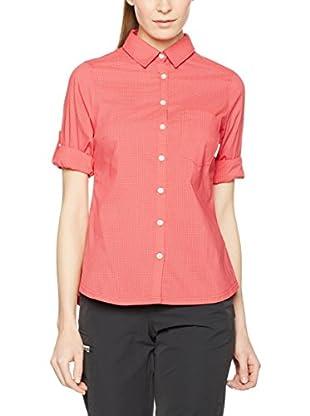 ZZZ-PEAK PERFORMANCE Camisa Mujer Diosaz Ls (Coral)