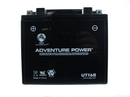 UPG UT16B  Adventure Power Power Sport AGM Series Sealed AGM Battery