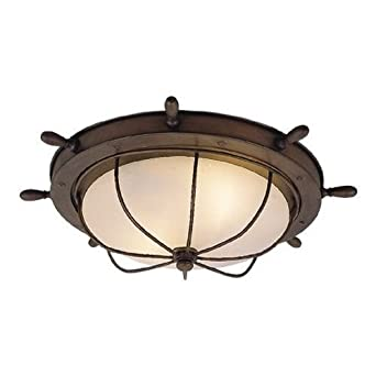 Vaxcel OF25515RC Orleans 15-Inch Outdoor Ceiling Light