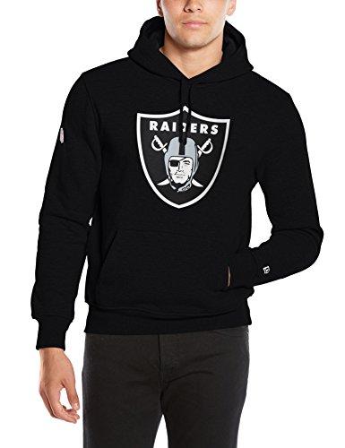 New Era Herren Kapuzenpullover NFL Team Logo PO Hoodie Oakland Raiders