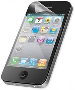6 x Membrane Pellicola Protettiva Schermo per Apple iPhone 4 / 4G / 4S / 4GS - Crystal Clear (Invisible), Antigraffio Protezione Schermo, Confezione Originale ed accessori