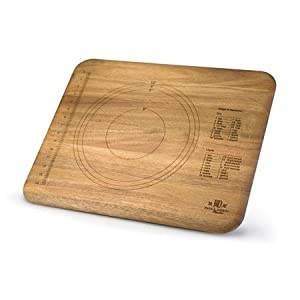 Paula Deen Signature Pantryware Wooden Pie and Cutting Board