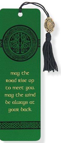 Beaded bookmark celtic
