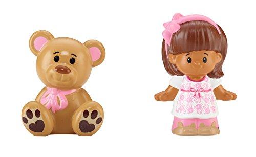 Fisher-Price Little People Mia & Teddy Bear