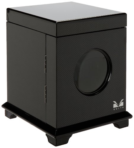 Volta 31-560010 Belleview Collection Single Carbon Fiber Watch Winder