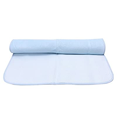 """Tosnail 2 Pieces Eco-friendly Bamboo Fiber Washable Diaper Changing Mat Pad for Baby Cribs,stroller, 20"""" X 28"""""""