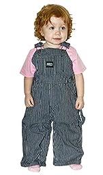 INFANT Hickory Stripe Bib Overall - Sizes 9mo-24mo