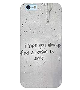 PrintDhaba QUOTE D-6483 Back Case Cover for APPLE IPHONE 6S (Multi-Coloured)