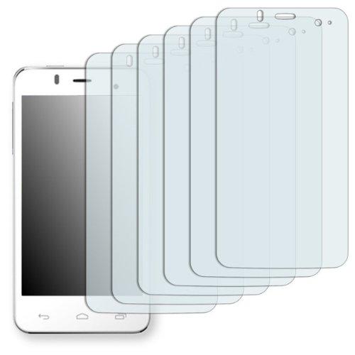 6 x Ultra Clear Displayschutzfolie für Alcatel One Touch Star 6010D