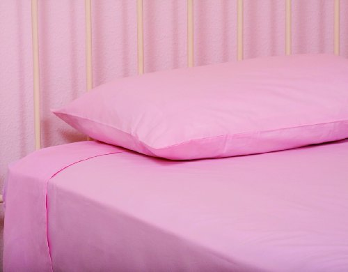 Pam Grace Creations Twin Sheets, Pink front-1033702