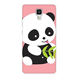 Ajay Enterprises Elite Cc Pink Panda Back Case Cover for Xiaomi Mi 4