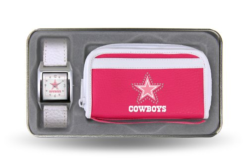 NFL Dallas Cowboys Women's Watch and Wallet Set at Amazon.com