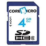 Core Micro CMSDCHC6/4GB Core Micro 4GB Secure Digital Card SDHC Class 6by CoreMicro