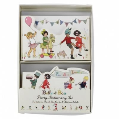 Belle & Boo Party Invitations and Thank You Cards