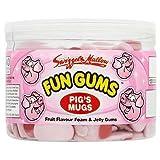Swizzels Matlow Fun Gums Pig's Mugs x 120