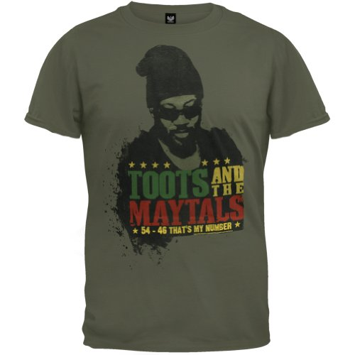 Toots And The Maytals - That'S My Number T-Shirt - X-Large
