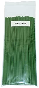 "Polyethylene (LDPE) Plastic Welding Rod, 1/8"" diameter 1 lb, Green"