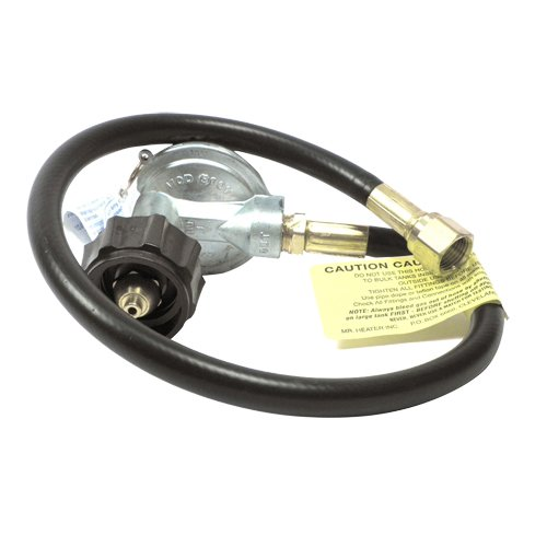 "Mr. Heater F271161 22"" Replacement Propane Hose and Regulator Assembly with Appliance End Fitting and Acme Nut"
