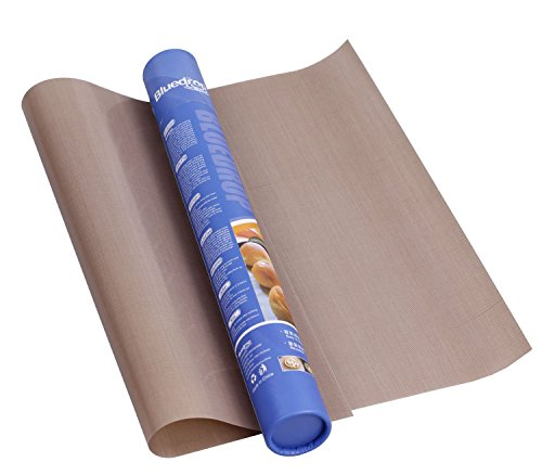Bluedrop BBQ Grill Mat TEFLON Coated Non Stick For Grilling or Baking 11.8 x 15.7 Inch (Teflon Baking Paper compare prices)