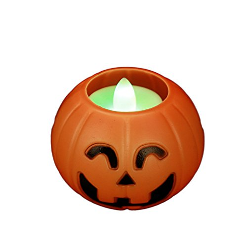 "Halloween Led Jack-O-Lanterns Multicolor 2.8"" front-707470"