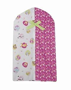 Lambs and Ivy - Bolsa guarda pañales, diseño de tutti frutti en BebeHogar.com