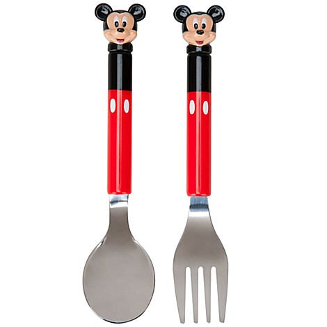 Mickey Mouse Flatware Set 2 Pc - 1