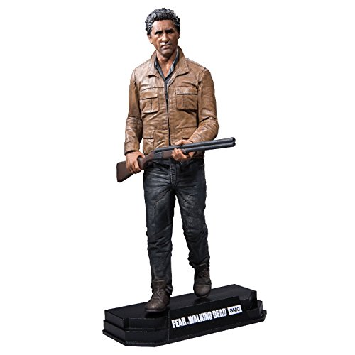 "Walking Dead 14673 ""Fear TV Travis 7IN Colour Top Red"" Action Figure"