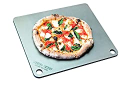 NerdChef Steel Stone - High-Performance Baking Surface for Pizza (.375\