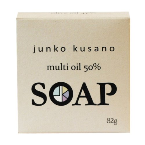 junko kusano multi oil 50% soap マルチオイル石けん 82g