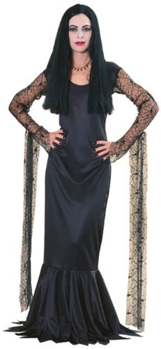 Rubies Halloween Adult Addams Family Morticia Costume Large Black