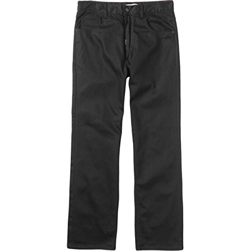 LRG Mens RC Classic C47 Woven Pants, Triple Black, 32