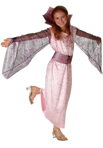 RG Victorian Pink Spider Halloween Costume Dress Child