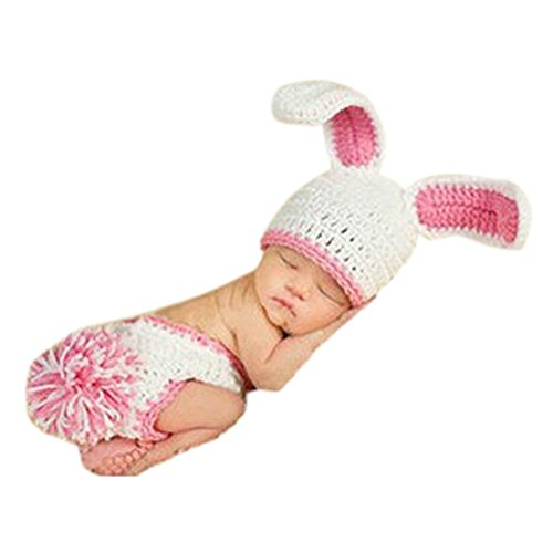 Handmade Knitted Crochet Hat Costume Newborn Baby