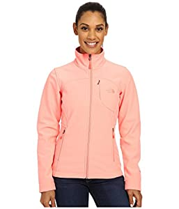 New the North Face Women's Apex Bionic Jacket (X-Small, Neon Peach)