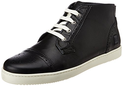 CR7 Cristiano Ronaldo Men's Jazz Dressy Brogue Black Leather Boots - 6 UK (01.10.01.01.02.02)
