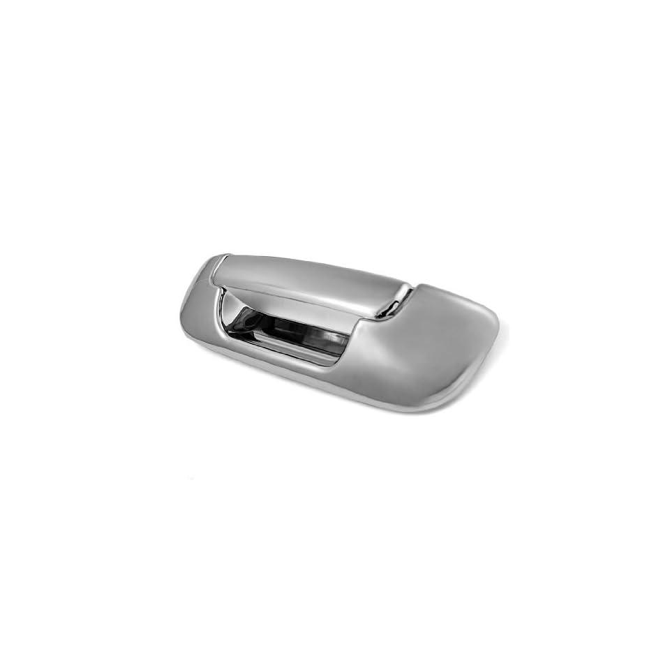 2 pcs Complete Set Automotive Chrome Tailgate Handle Cover