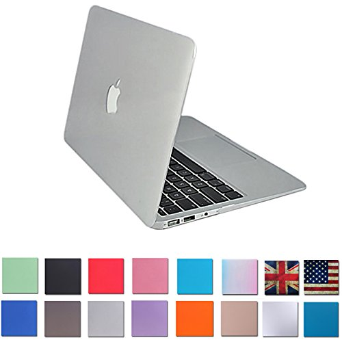 """HDE Matte Hard Shell Clip Snap-on Case for MacBook Pro 13"""" (Non-Retina) - Fits Model A1278 (Clear)"""