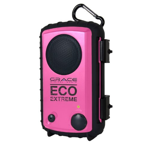 Consumer Electronic Products Grace Digital Gdi-Aqcse106 Rugged Waterproof Case With Built-In Speaker For Ipod/Iphone - Pink Supply Store