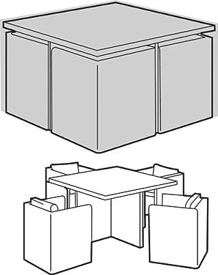 Abdeckung für Gartenmöbel im Cube-Design (4-Sitzer), groß von Worth Gardening by Garland - Gartenmöbel von Du und Dein Garten