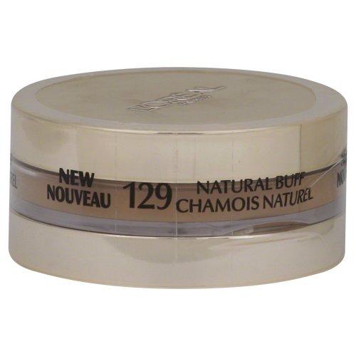 L'Oreal Visible Lift Repair Absolute Makeup, Rapid Age Reversing, #129 Natural Buff - 0.7 Oz, Pack of 2