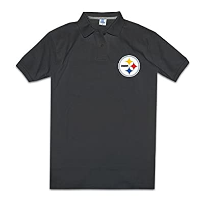 Pittsburgh Steelers Primary Team Logo Mens Fashion Polo Shirts