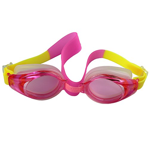 Baby Swimming Goggles Children Diving Glasses Professional Indoor and Open Water Swimming Sports for Kids (pink) (Mare Rings compare prices)