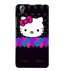 Cute teddy Back Case Cover for Lenovo A6000 Plus