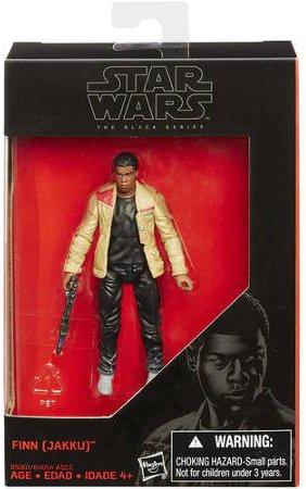 Star Wars, 2015 The Black Series Finn [Jakku] Exclusive Action Figure, 3.75 Inches