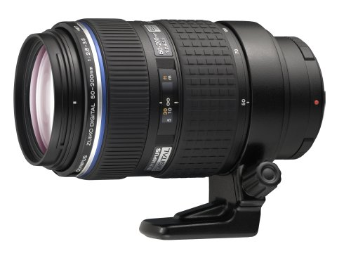 Olympus Zuiko 50-200mm f/2.8-3.5 Digital ED SWD Lens for Olympus Digital SLR Cameras