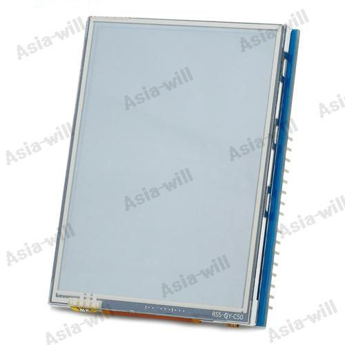 "Asiawill® 2.8"" Tft Lcd Touch Shield Module For Arduino - Silver + Blue + Black"