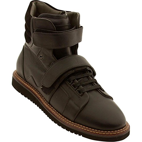Android Homme Propulsion High Boot (deep black / light fur lining)-12.0