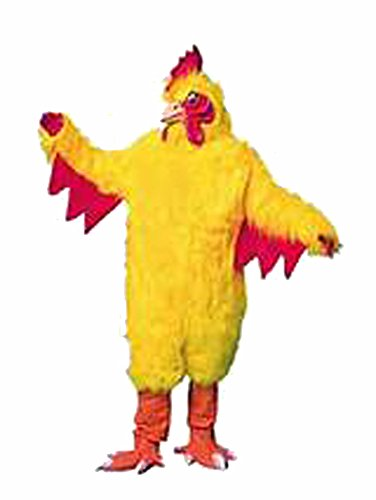Adult Chicken Mascot Costume Suit